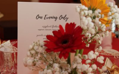 'One Evening Only' 21 Sep 2019